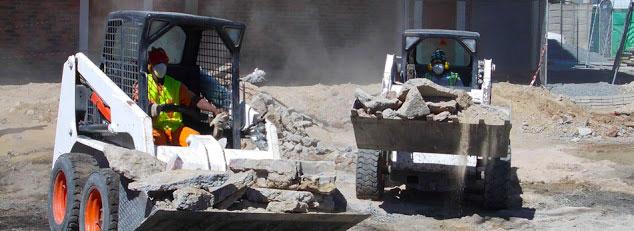 bobcat hire tractor hire
